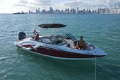 23 ft. Chaparral Boats 23 SSi Bow Rider Boat Rental Miami Image 9