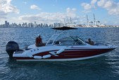 23 ft. Chaparral Boats 23 SSi Bow Rider Boat Rental Miami Image 7