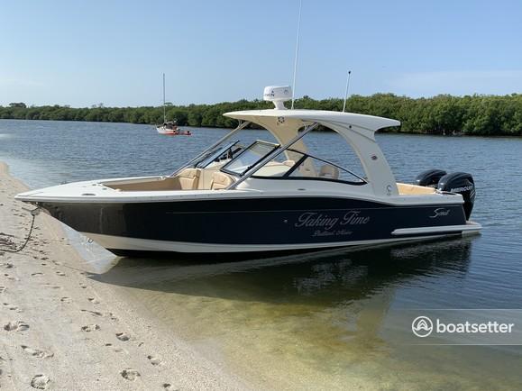 Rent a Scout Boats dual console in Punta Gorda, FL near me