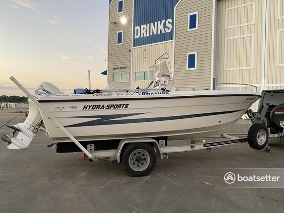 Rent a Hydrasports Boats bass boat in Seabrook, TX near me