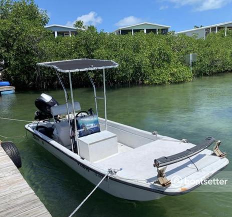 Rent a Carolina Skiff center console in Key West, FL near me