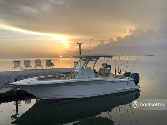 Rent a SCOUT BOATS center console in Stuart, FL near me