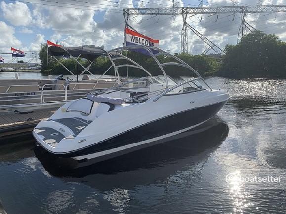 Rent a Yamaha jet boat in Dania Beach, FL near me