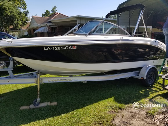 Rent a Chaparral Boats ski and wakeboard in Kenner, LA near me