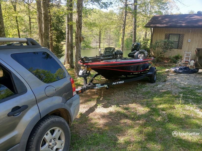 Rent a NITRO BY TRACKER MARINE bass boat in Parrish, AL near me