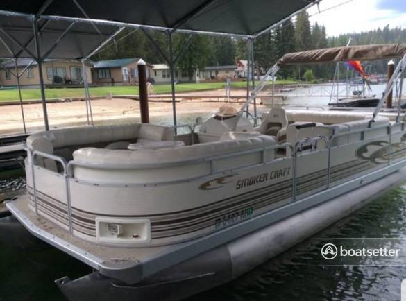 Rent a Smoker Craft Boats pontoon in Liberty Lake, WA near me