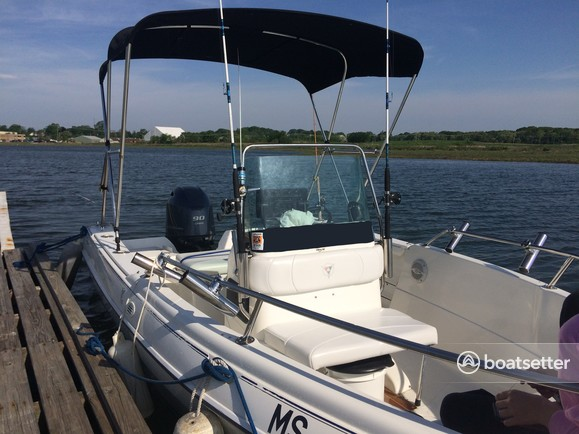 Rent a Campion Marine center console in Quincy, MA near me