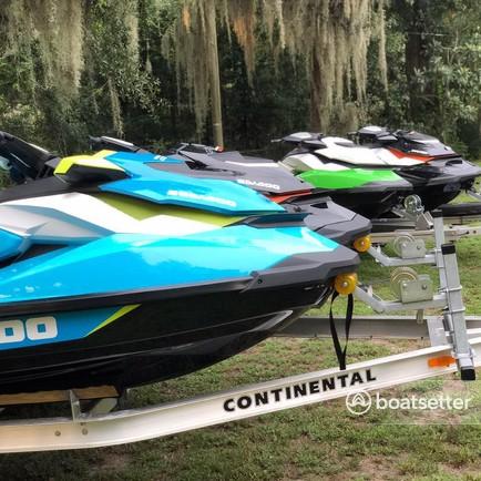 Rent a SEA-DOO jet ski / personal water craft in Gibsonton, FL near me