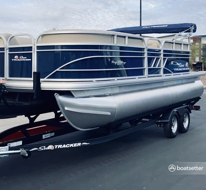 Rent a Suntracker pontoon in Peoria, AZ near me