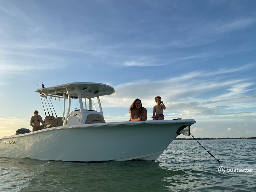 Rent a SEA PRO BOATS center console in Boca Raton, FL near me