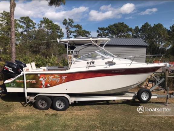 Rent a Sea Fox deck boat in St. Cloud, FL near me