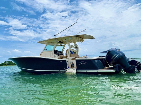 Rent a Scout Boats center console in Jacksonville, FL near me