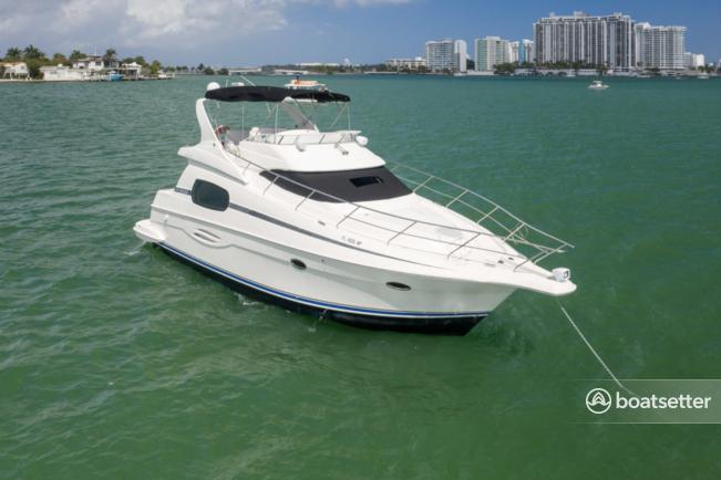 Rent a Silverton Marine cruiser in Miami Beach, FL near me