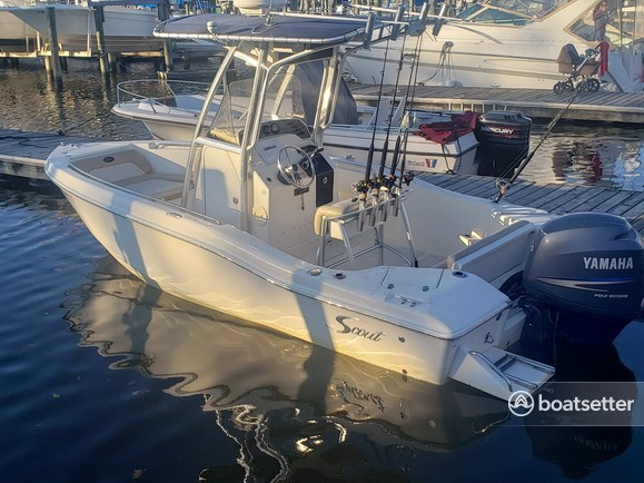 Rent a Scout Boats center console in Placida, FL near me
