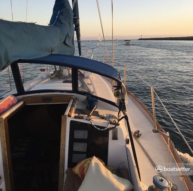 Rent a Tartan Yachts cruiser racer in Long Beach, CA near me