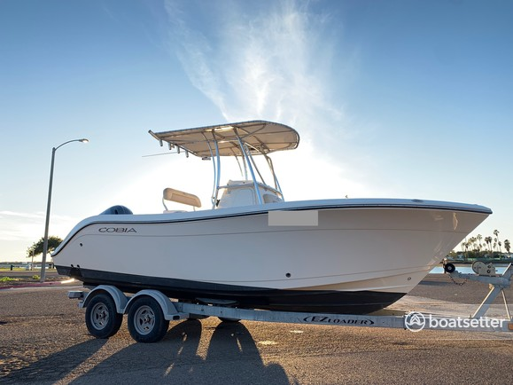 Rent a COBIA BOATS fish and ski in San Diego, CA near me