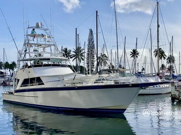Rent a Striker Yachts offshore sport fishing in Honolulu, HI near me