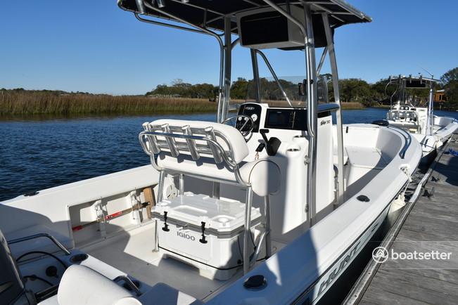 Rent a Sea Hunt Boats center console in Mount Pleasant, SC near me