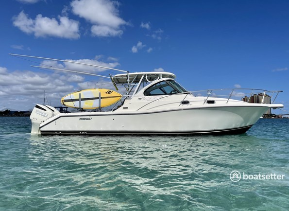 Rent a Pursuit offshore sport fishing in West Palm Beach, FL near me