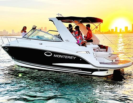Rent a Monterey Boats motor yacht in Miami Beach, FL near me