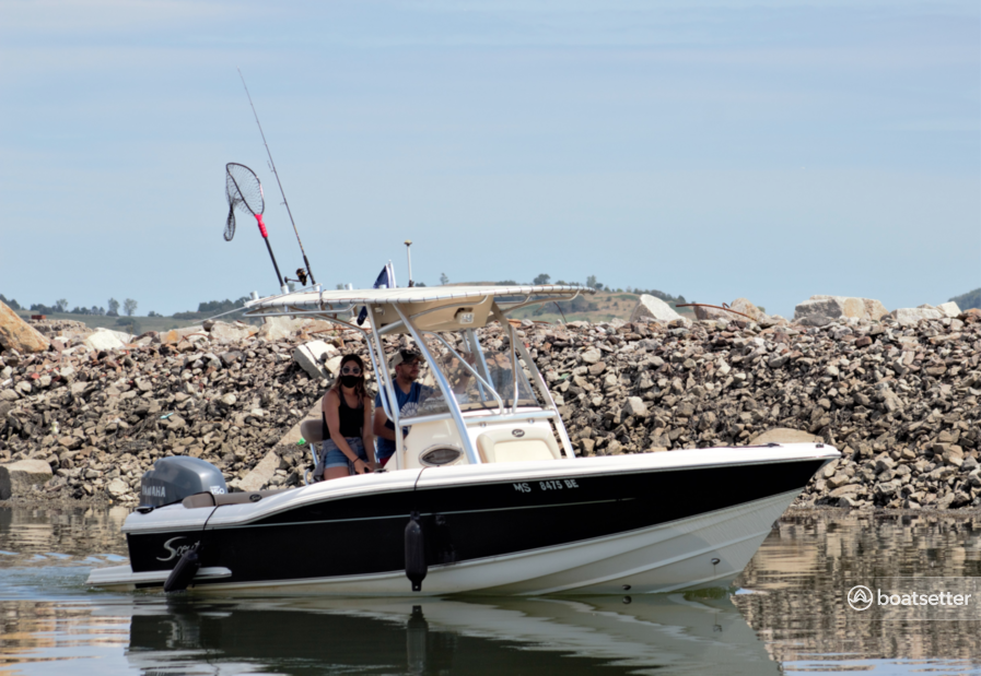 Rent a Scout Boats center console in Hingham, MA near me