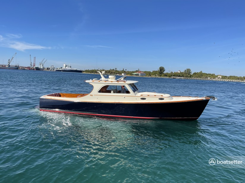 Rent a Hinckley Yachts classic in West Palm Beach, FL near me