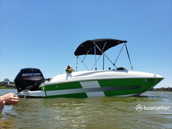 Rent a BAYLINER bow rider in League City, TX near me