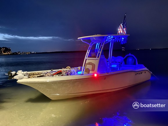 Rent a KEY WEST BOATS center console in Fort Myers, FL near me