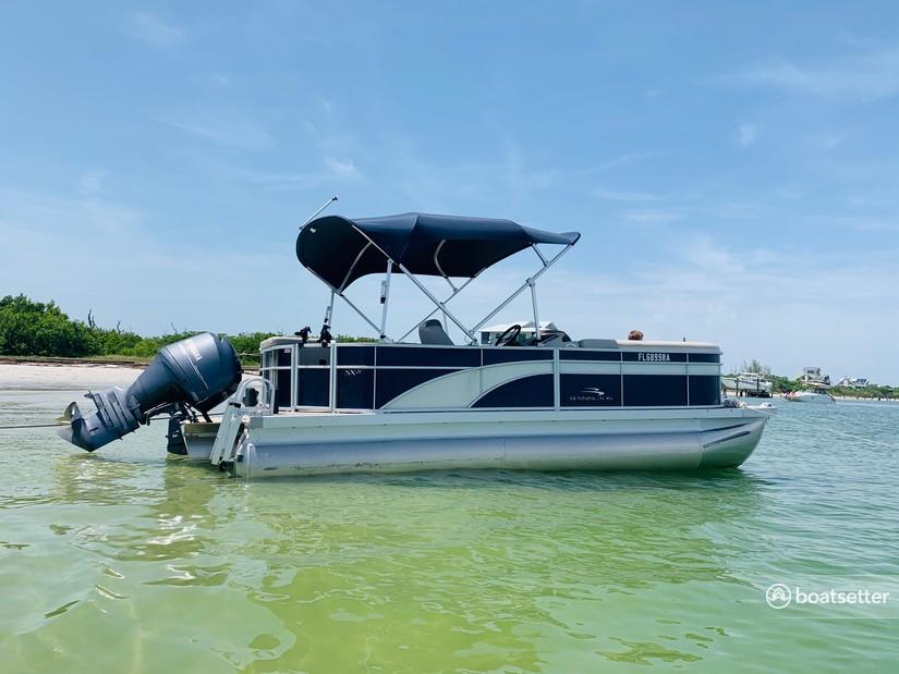 Rent a Bennington Marine pontoon in Cape Coral, FL near me