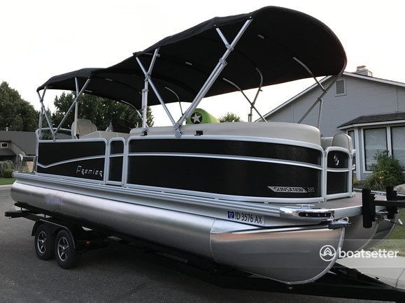 Rent a PREMIER MARINE pontoon in Boise, ID near me