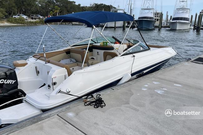 Rent a Sea Ray Boats deck boat in Daytona Beach, FL near me