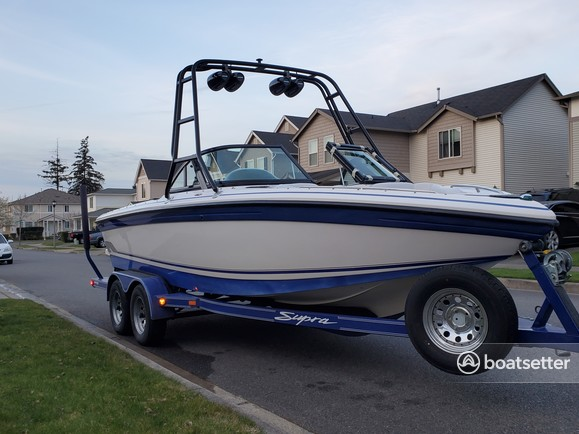 Rent a Supra by Skiers Choice ski and wakeboard in Joint Base Lewis-McChord, WA near me