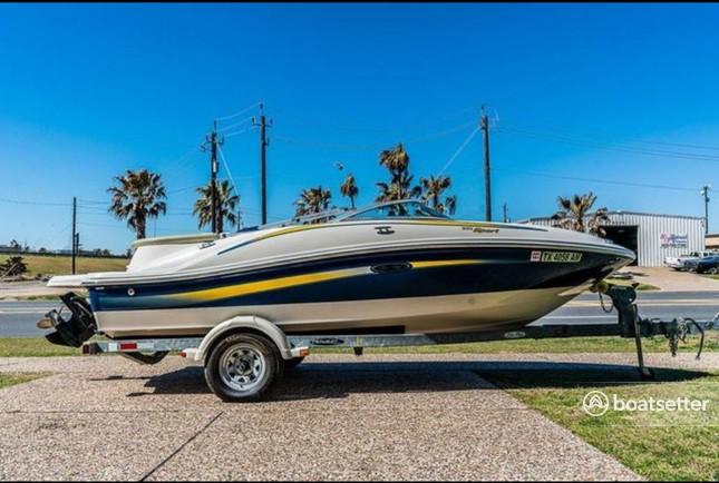Rent a SEA RAY BOATS bow rider in Galveston, TX near me