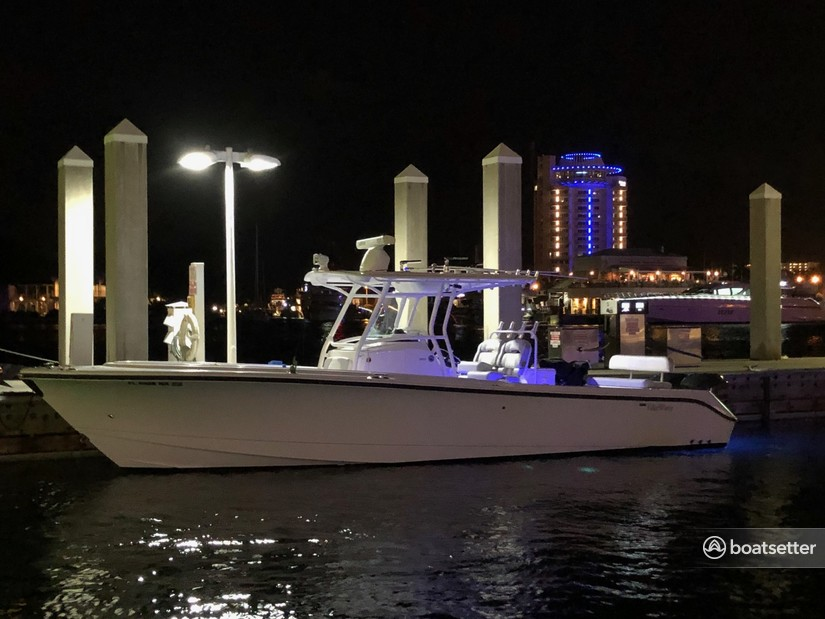 Rent a Edgewater Powerboats center console in Fort Lauderdale, FL near me