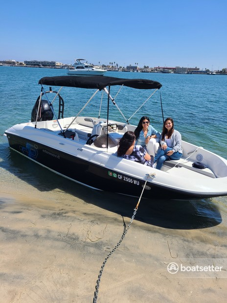 Rent a BAYLINER bow rider in San Diego, CA near me