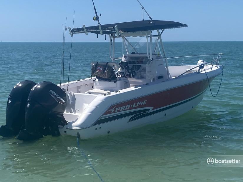Rent a Pro-Line Boats center console in Cape Coral, FL near me