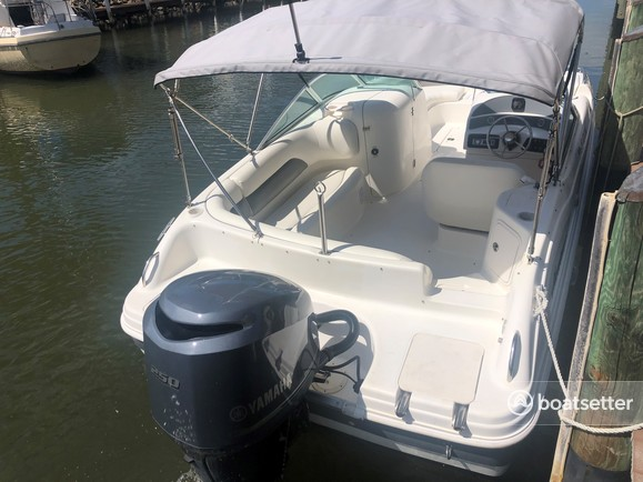 Rent a Hurricane Boats deck boat in Naples, FL near me