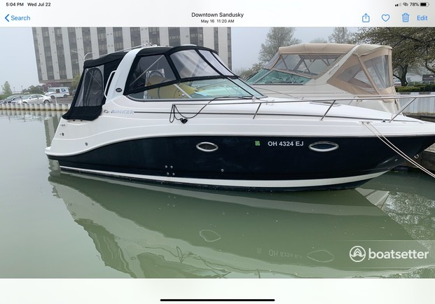 Rent a Rinker Boats cruiser in Port Clinton, OH near me