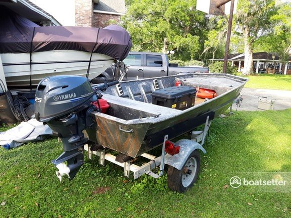 Rent a Weld-Craft jon boat in Morgan City, LA near me