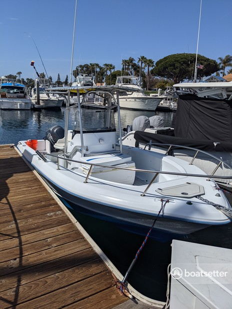 Rent a Triumph Boats center console in San Diego, CA near me