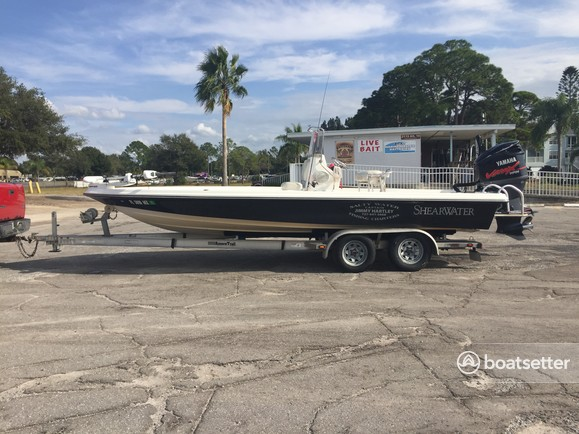 Rent a Shearwater saltwater fishing in Palm Harbor, FL near me