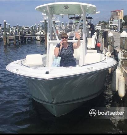Rent a Sea Hunt Boats center console in Panama City, FL near me