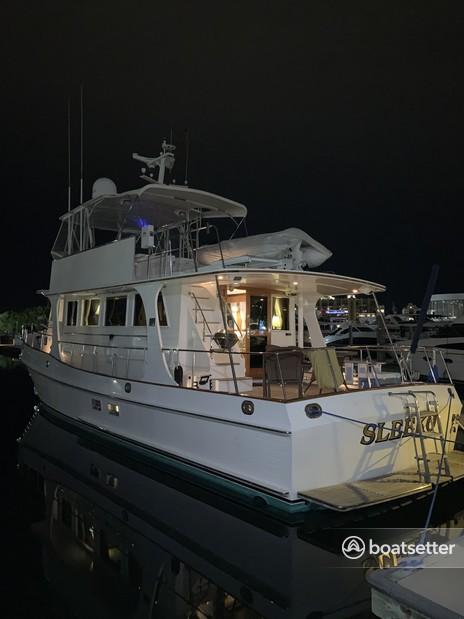 Rent a Grand Banks trawler in Sarasota, FL near me