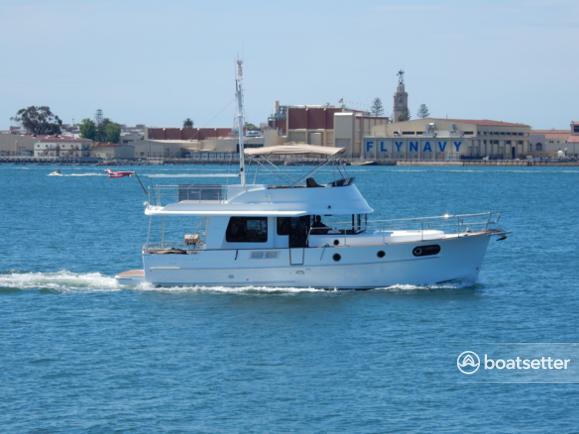 Rent a Beneteau USA trawler in San Diego, CA near me