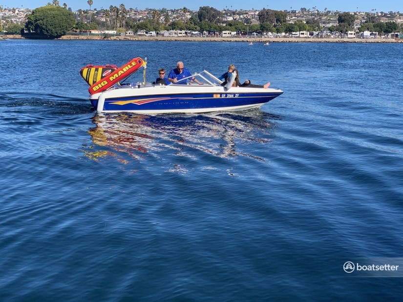 Rent a Bayliner jet boat in San Diego, CA near me
