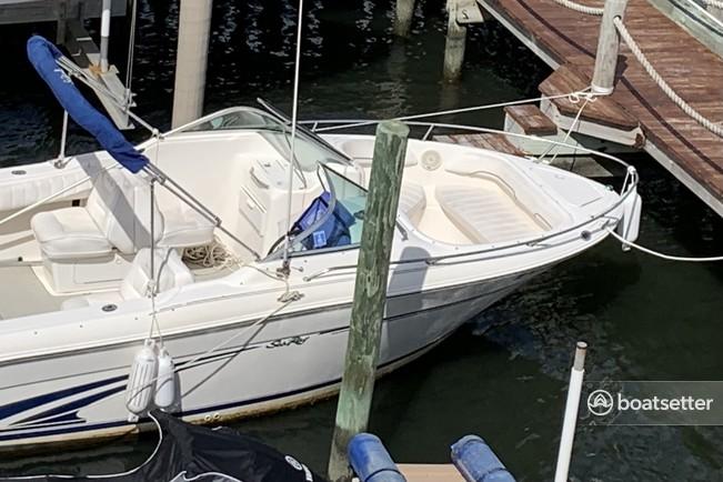 Rent a Sea Ray Boats bow rider in Ship Bottom, NJ near me