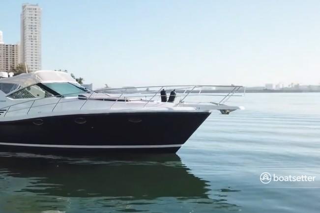 Rent a Uniesse Boats express cruiser in Miami, FL near me