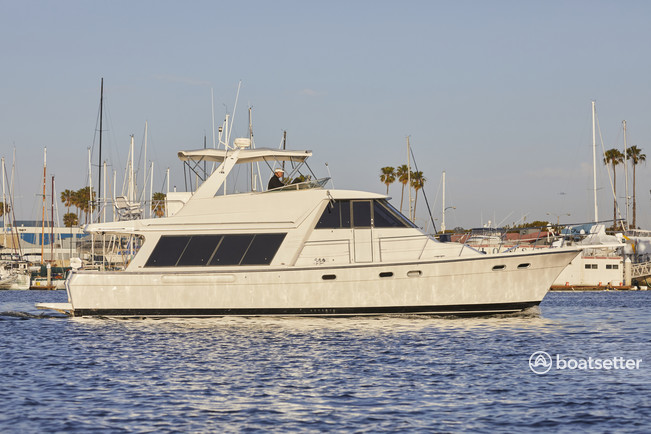 Rent a Bayliner motor yacht in Marina del Rey, CA near me
