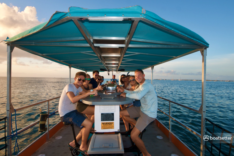 Rent a Cycleboat catamaran in Fort Myers Beach, FL near me