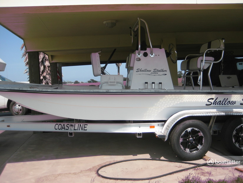 Rent a Shallow Stalker center console in Port Lavaca, TX near me